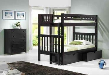 Norwood Bunk bed espresso